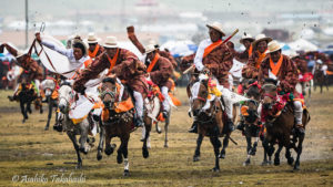 理塘の競馬祭(中国)