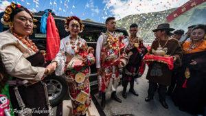 新都橋の結婚式(中国)